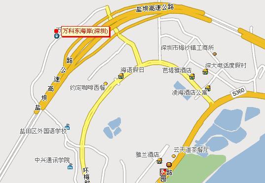 小梅沙)地区  交  通: 距离宝安国际机场:65公里,距离市中心东门步行