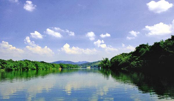 广州或佛山到增城鹤之州湿地公园,小楼人家,报德祠
