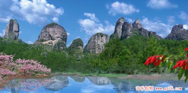 龙川县霍山风景区
